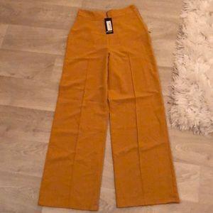 Mustard loose pants